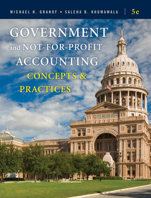 government and not for profit accounting 5e solutions manual