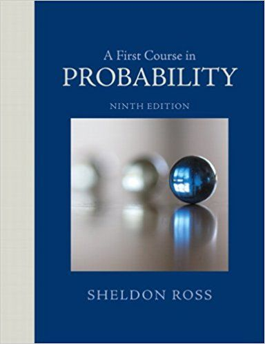 solution manual a first course in probability 9th edition ross