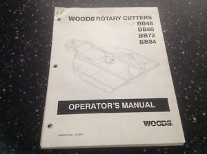 woods rotary cutter parts manual