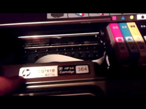 how to manually clean printhead on hp 6520 printer