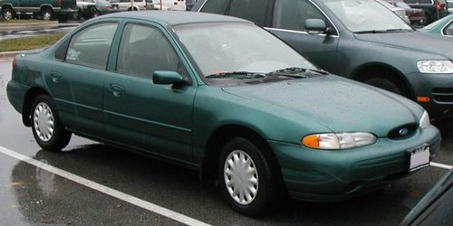 1996 ford contour parts manual