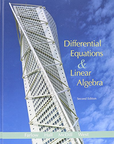 differential equations and linear algebra goode solution manual