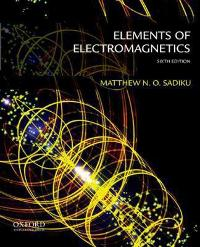 elements of electromagnetics 7th edition solutions manual