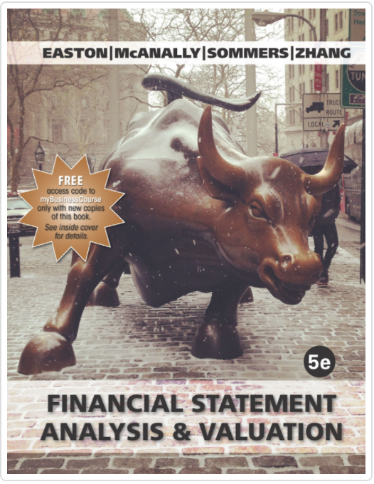 financial statement analysis and valuation 3rd edition solution manual