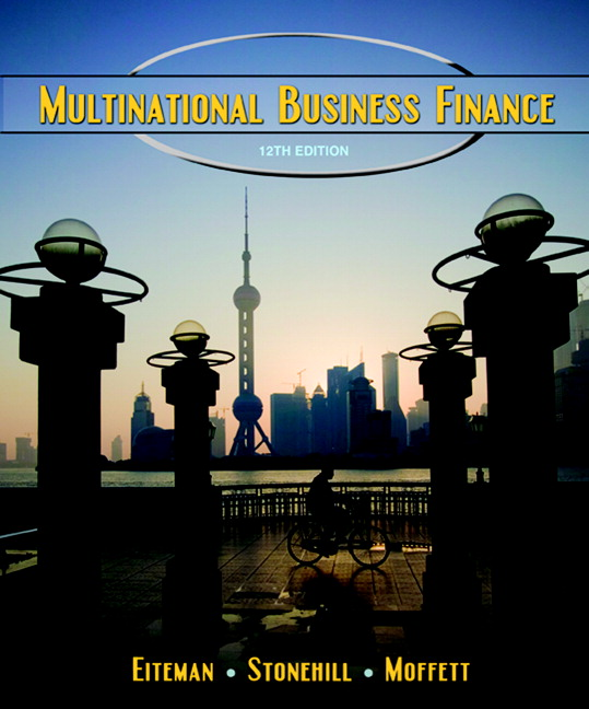 multinational business finance 13th edition solutions manual