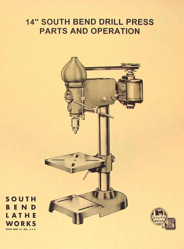 south bend fourteen lathe operations maintenance and parts manual year